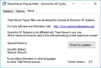 TeamViewer Popup Killer v2 0 – GromasTech