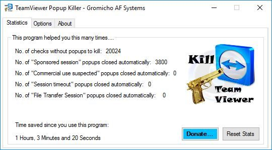 Team Viewer Popup Killer (XP Version)