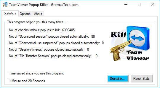 TeamViewer Popup Killer v2.3